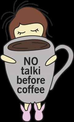 Print Etui na Xiaomi Mi6 No talki before coffee - PrintSalon