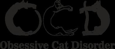 Print Koszulka Polo Obsessive cat disorder - PrintSalon
