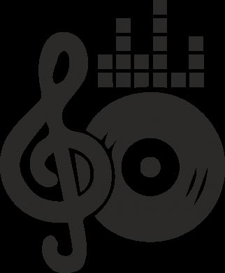 Print Mug 330ml Music - PrintSalon