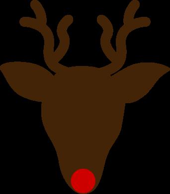 Print Sweatshirt Christmas deer - PrintSalon