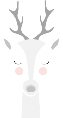 Print Sweatshirt Deer - PrintSalon