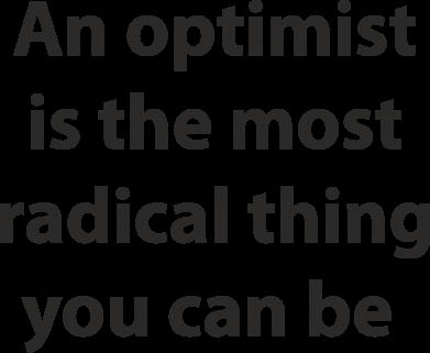Print Etui na iPhone 11 Pro Max Napis: An optimist - PrintSalon