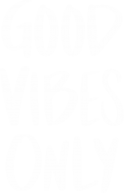 Print Męska bluza z kapturem GOOD VIBES ONLY - PrintSalon