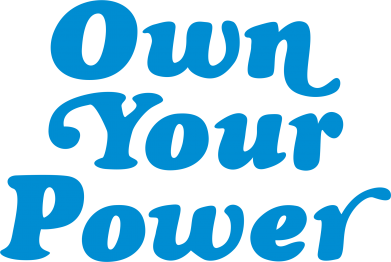 Print Męska bluza z kapturem Own your power - PrintSalon