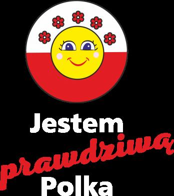Print Damska koszulka polo Jestem prawdziwą Polką - PrintSalon
