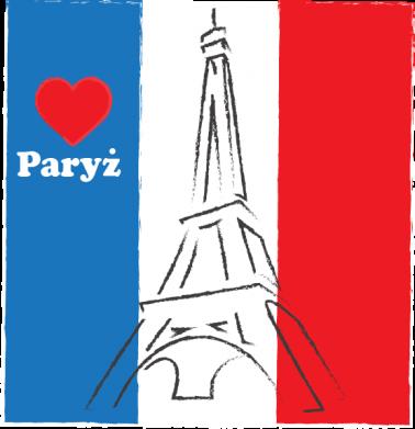 Print Notes Kocham Paryż - PrintSalon