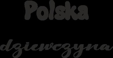 Print Kubek-kameleon Polska Dziewczyna - PrintSalon