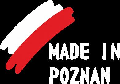 Print Plecak z przednią kieszenią Made in Poznan - PrintSalon