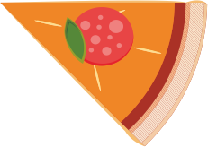 Print Bokserki męskie Baby pizza - PrintSalon