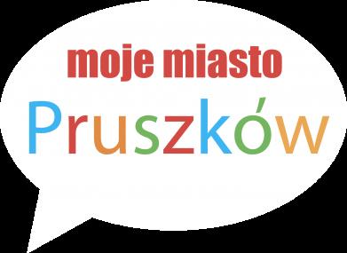 Print Męska bluza z kapturem Napis: Moje miasto Pruszków - PrintSalon