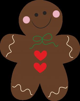 Print Sweatshirt Gingerbread Man - PrintSalon