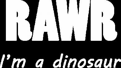 Print Koszulka Polo Rawr. I'm a dinosaur - PrintSalon