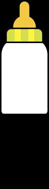 Print Etui na iPhone 11 Pro Max Ja i butelkę mleka - PrintSalon