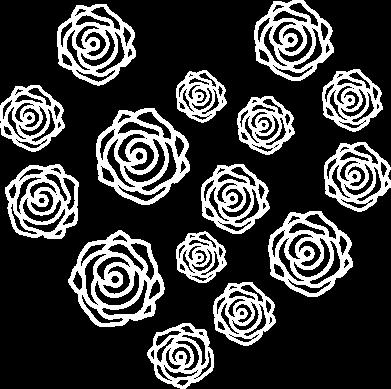 Print Men's hoodie Roses - PrintSalon