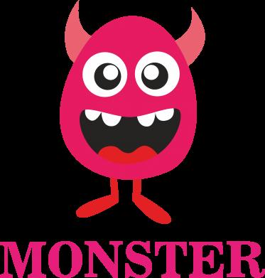 Print Kubek-kameleon Pink monster - PrintSalon