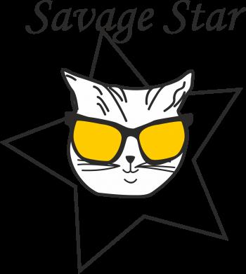 Print Etui na Xiaomi Mi6 Savage star - PrintSalon