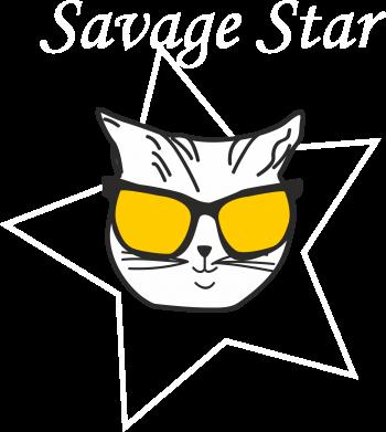 Print Plecak z przednią kieszenią Savage star - PrintSalon