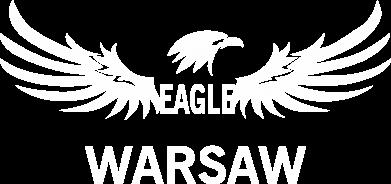 Print Kids T-shirt Warsaw eagle black or white - PrintSalon