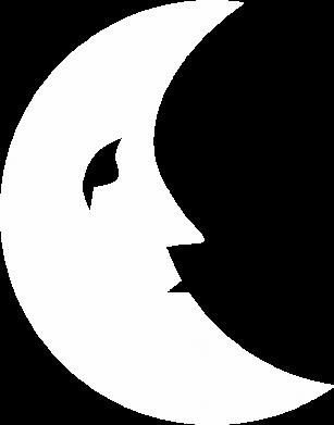 Print Bokserki męskie Moon for the sun - PrintSalon