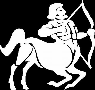 Print Men's hoodie Sagittarius - PrintSalon