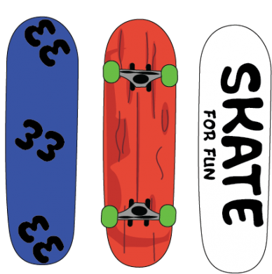 Print Sweatshirt Skate board - PrintSalon