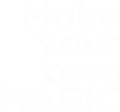 Print Damska bluza Make your own MAGIC - PrintSalon