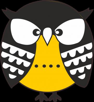 Print Women's hoodies Evil owl - PrintSalon