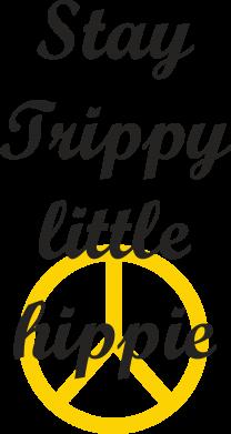 Print Etui na iPhone 11 Pro Max Stay trippy little hippie - PrintSalon