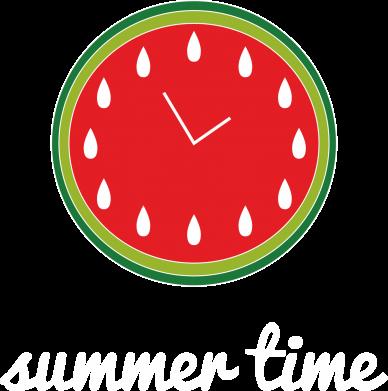 Print Women's hoodies Summer time - PrintSalon