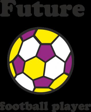 Print Baby bodysuit Future football player - PrintSalon