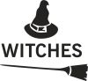 Broom and hat Witches