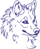 Big evil wolf