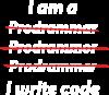 I write code