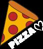 Serce miłość pizzy
