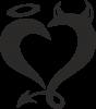 Heart of satan