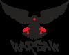 Warsaw eagle black ang red