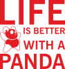 Life is better with a panda