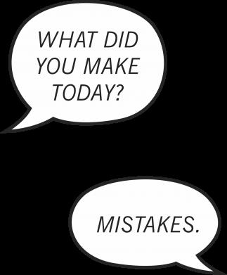 Print Mug 330ml What did you make today? Mistakes. - PrintSalon