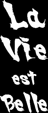 Print Plecak z przednią kieszenią La vie est belle - PrintSalon