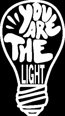 Print Bokserki męskie You are the light - PrintSalon