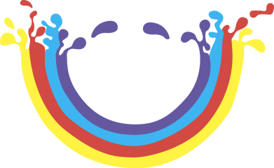 Print Mug 330ml Smiling rainbow - PrintSalon