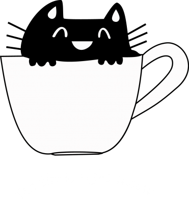 Print Czapka trucker Tea time, right meow - PrintSalon