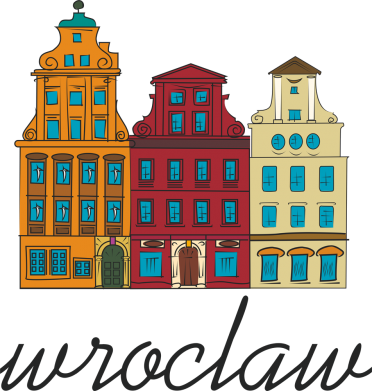 Print Męska bluza z kapturem Wroclaw illustration - PrintSalon