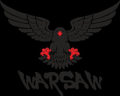 Print Etui na Xiaomi Mi6 Warsaw eagle black ang red - PrintSalon