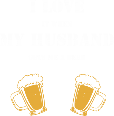 Print Sweatshirt Wife and beer - PrintSalon