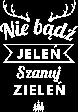 Print Damska koszulka V-neck Nie bądż jeleń - PrintSalon