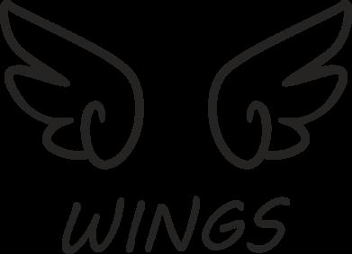 Print Mug 330ml Wings - PrintSalon