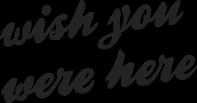 Print Etui na Xiaomi Mi6 Wish you were here - PrintSalon
