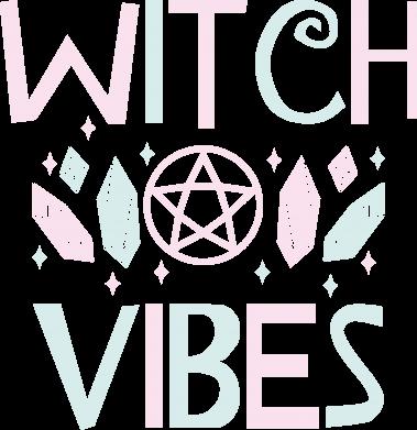 Print Męska bluza z kapturem Witch vibes - PrintSalon