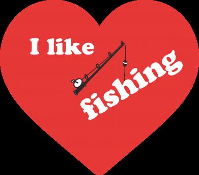 Print Bluza (raglan) I like fishing - PrintSalon